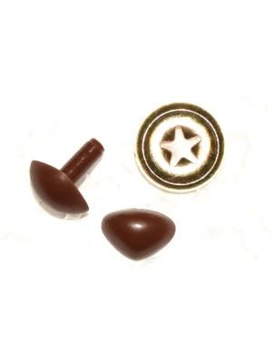 Veiligheidsneusje:  9mm Bruin