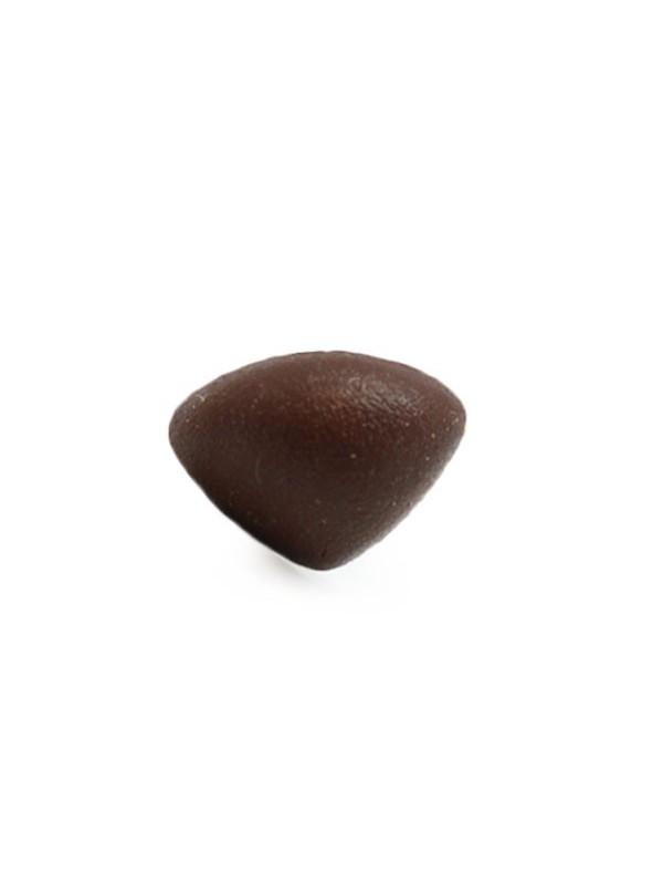 driehoeks-neus 18 mm soft bruin