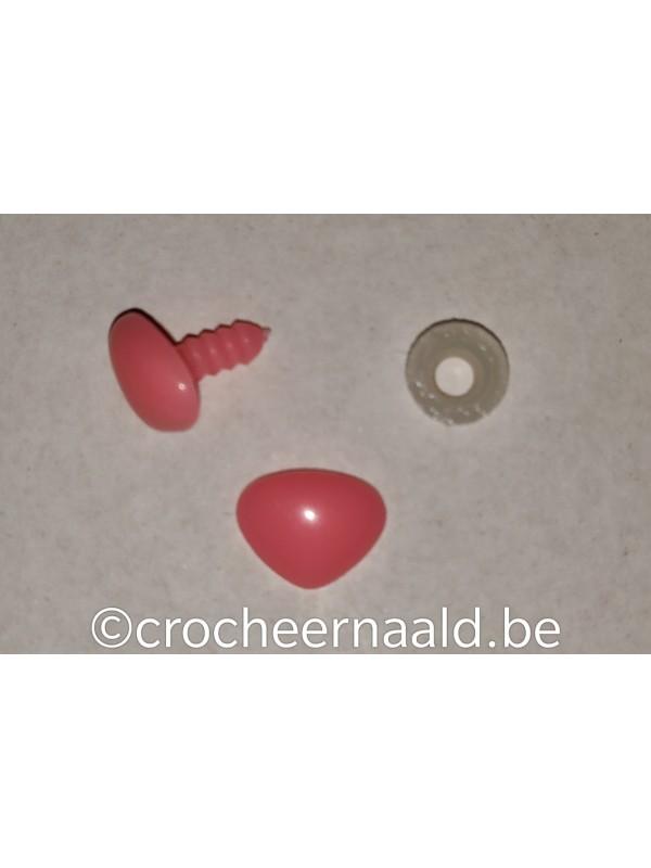 Veiligheidsneusje:  15 mm Roze