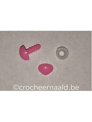 Veiligheidsneusje:  9 mm Roze