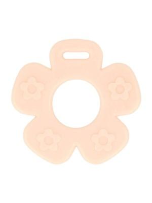 Bijtring Bloem open - 65 mm - Roze
