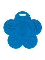 Bijtring Bloem - 60 mm - Blauw