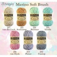 Merino Soft Brush Israëls  - 254