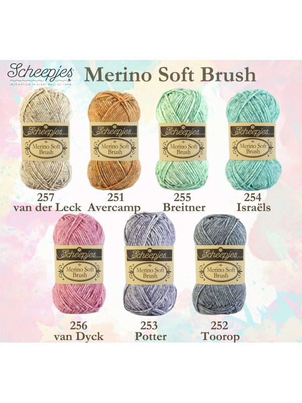 Merino Soft Brush van der Leck  - 257