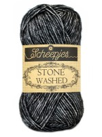 Scheepjes Stone Washed 803 - Black Onyx