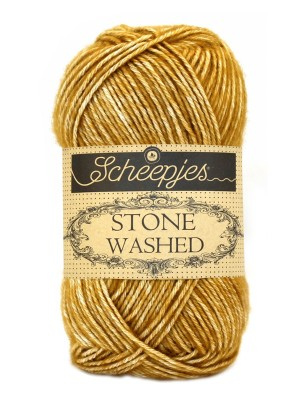 Scheepjes Stone Washed - 809 - Yellow Jasper