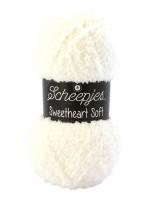 Scheepjes Sweetheart Soft 01 Roomwit