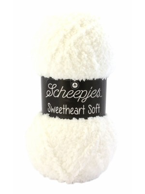 Scheepjes Sweetheart Soft 01 Roomwit