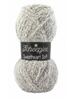 Scheepjes Sweetheart Soft 02 Soft Licht Grijs