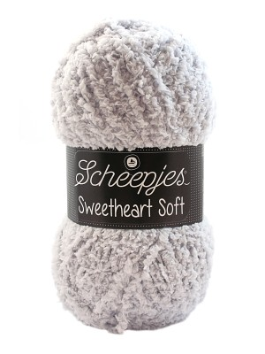 Scheepjes Sweetheart Soft 19 Soft Grijs
