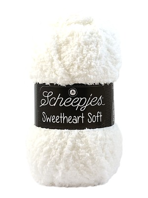 Scheepjes Sweetheart Soft 20 Wit