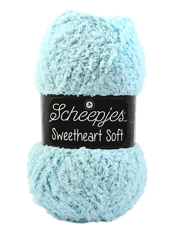 Scheepjes Sweetheart Soft 21 Soft Turquoise