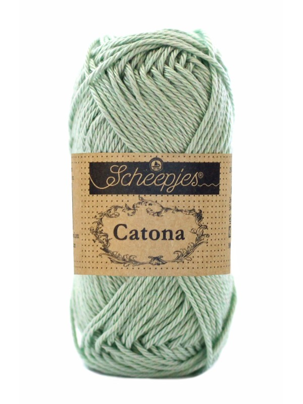 Scheepjes Catona - 402 Silver Green