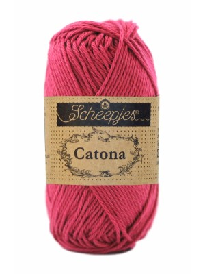 Scheepjes Catona- 413 Cherry