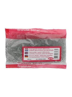 Zware glasparels Kleur: Gewolkt grijs - 250 gram