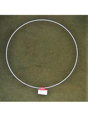 Metalen ring wit 30 cm