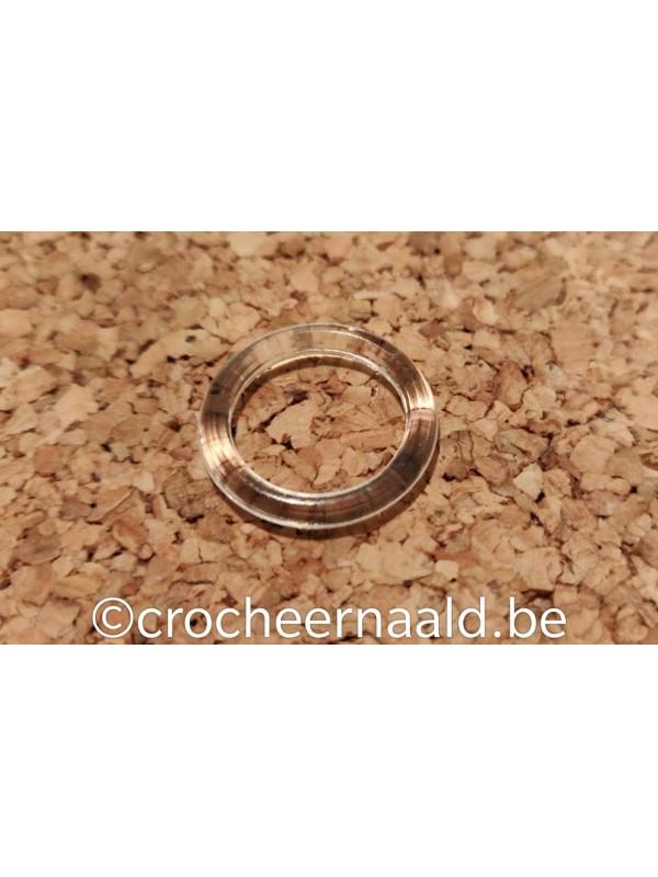 Plastiek ring 21 mm